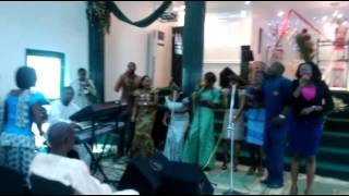 Joy overflow by Agape Christian Assembly  youth choir