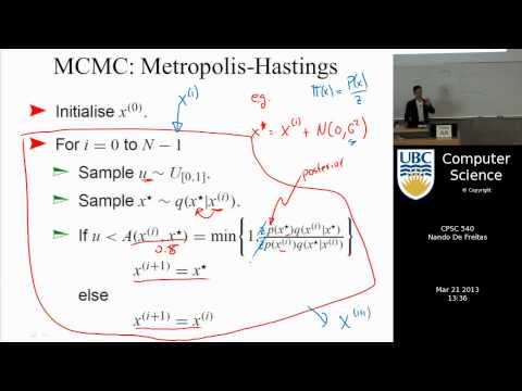 Machine learning - Markov chain Monte Carlo (MCMC) II