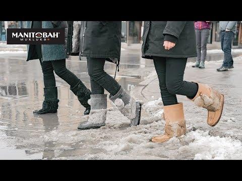 КАНАДА. Какую обувь канадцы носят зимой?