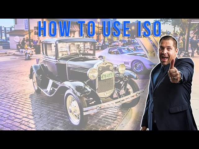 How to use ISO in Photography