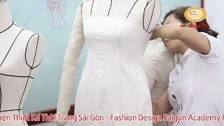 Một buổi học Fashion Draping tại Học Viện FDA Sài Gòn