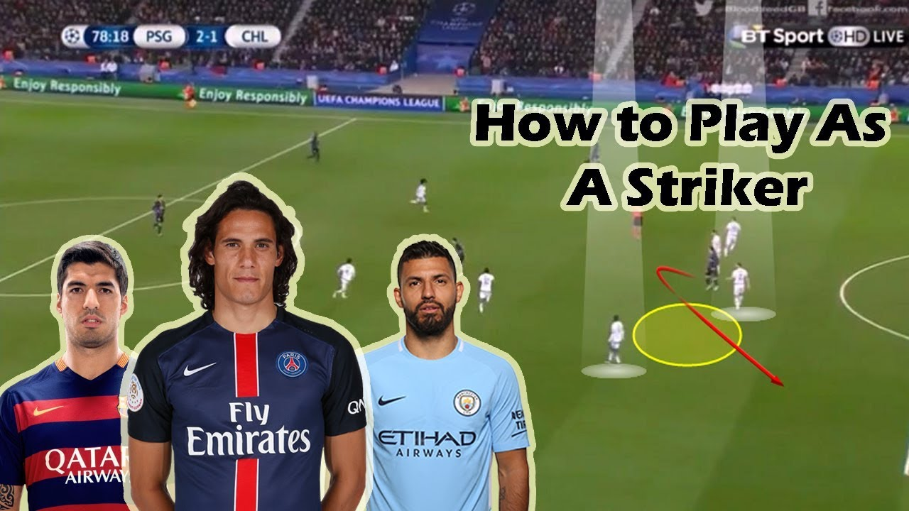Download How to Play as a Striker 'CF' in Football