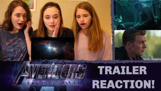 AVENGERS: ENDGAME Trailer Reaction!!
