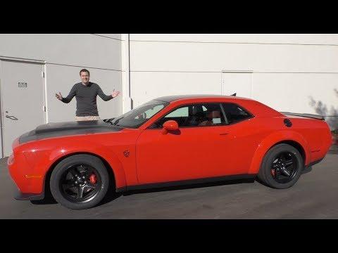 Dodge Demon за $100 000 - это безумнейший маслкар в истории