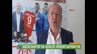 ANTALYASPOR 39 DA GENCER DÖNEMİ SONA ERİYOR
