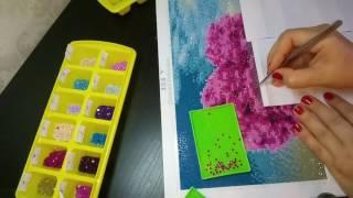 видео Алмазная вышивка (мозаика) со скидкой на Алиэкспресс