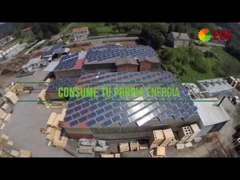 Instalación Energía Solar Fotovoltaica para Autoconsumo en Industria Maderera - EDF Solar