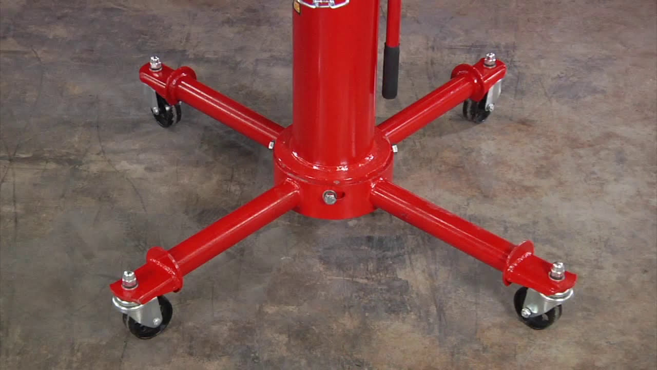 Strongway 2-Stage Telescoping Transmission Jack - 1/2 Ton Capacity   Northern Tool 01:03 HD