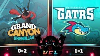 Pokémon USUM LIVE Wi-Fi Battle [UCL S3W3] Grand Canyon Greninjas vs Philadelphia Feraligatrs