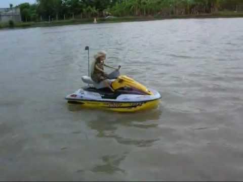 Rc Jet Ski At Bangbon 5 Soi 7 Thailand Youtube