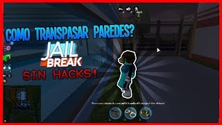 TIP TO CROSS WALLS WITHOUT H-CKS in JAILBREAK!! *Rocket Fuel* - ROBLOX ENGLISH 2018