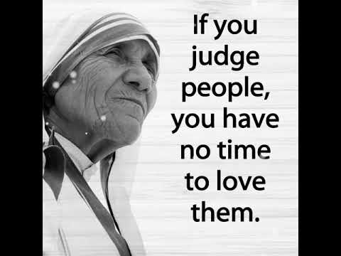 inspiration by mother teresa youtube