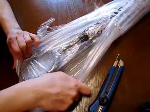 Распаковка. Зонт, закрывающийся наоборот с Aliexpress