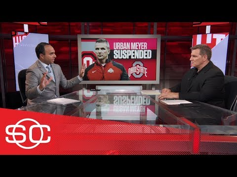 Reaction to Ohio State suspension of Urban Meyer by Trevor Matich, Rece Davis | SportsCenter | ESPN