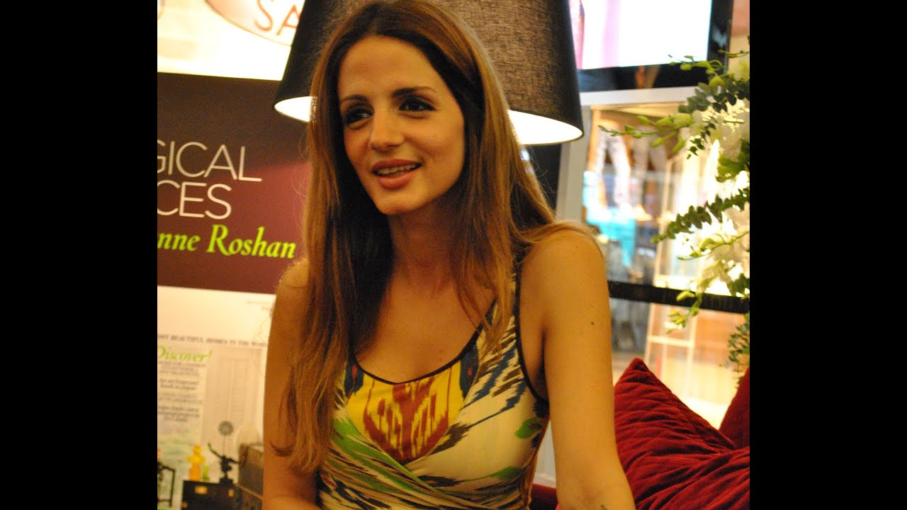 Sussanne Roshan Speaks About Interior Designing - YouTube