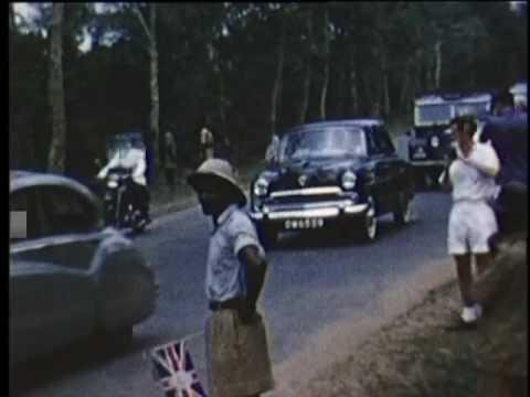 Queen Elisabeth II Port Harcourt Nigeria 1956