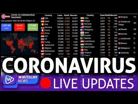 [LIVE] Coronavirus Pandemic: Real Time Counter, World Map, News
