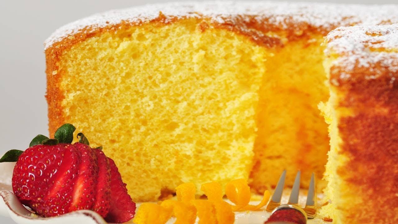 Orange Chiffon Cake Recipe Uk