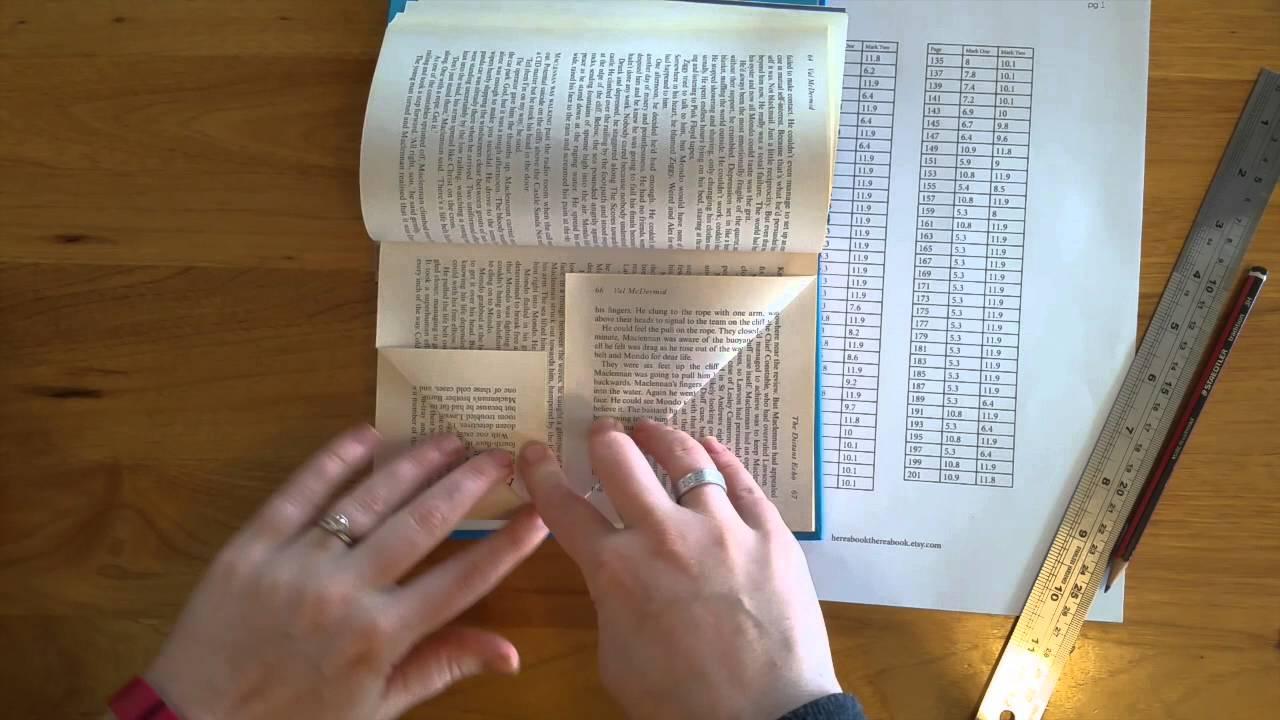 Book Folding Instructions - HABTAB - YouTube