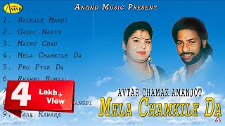 Avtar Chamak l Amanjot l Mela Chamkille Da l Audio Jukebox Full Album l Anand Music