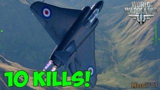 World of Warplanes | Gloster Javelin | 10 KILLS - Replay Gameplay 1080p 60 fps