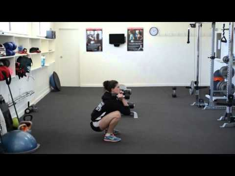 How To Squat with Weights | Adelaide Personal Trainer Kirri Story