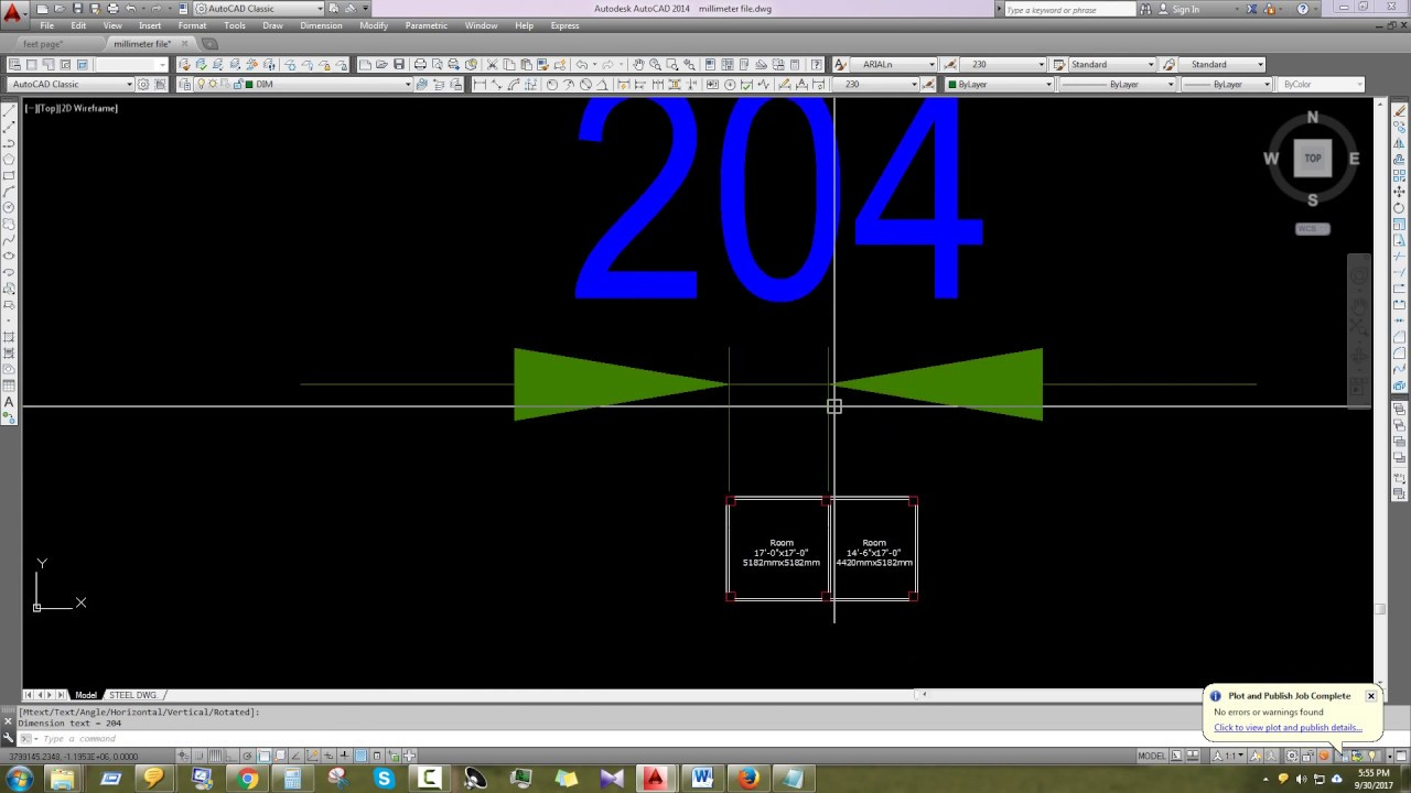 How To Scale Millimeter File To Feet File Feet File To Millimeter File In Autocad