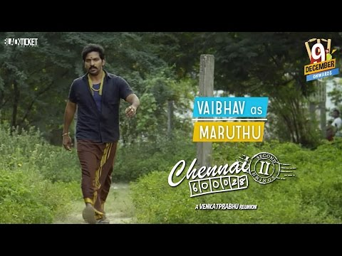Vaibhav as Maruthu in Chennai-28 2nd...