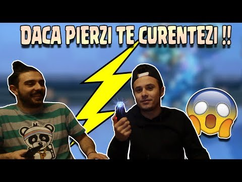 CINE PIERDE SE ELECTROCUTEAZA !! w/ xCretzu !! Clash Royale Romania !!