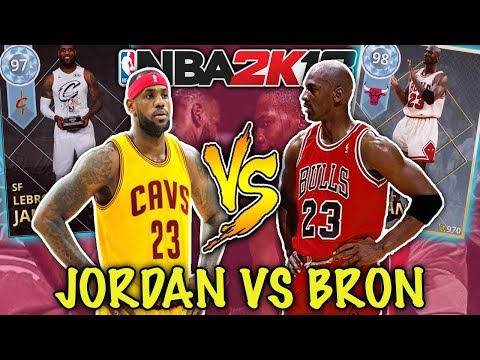 MICHAEL JORDAN vs LEBRON JAMES SQUAD BUILDER! (WHO'S THE GOAT?) NBA 2K18 MYTEAM