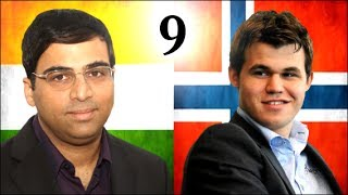 Game 9 - 2013 World Chess Championship - Vishy Anand vs Magnus Carlsen