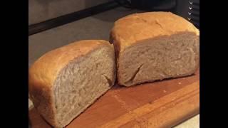 Белый хлеб по рецепту в хлебопечке GARLYN Home BR-1000