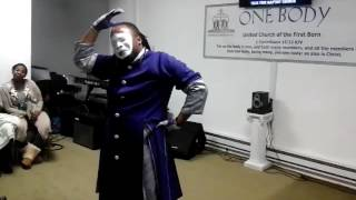 """""""God Provides """" (Sermonette) Mime Presentation by Exalted Silence Mime (November 20, 2016) PM"""