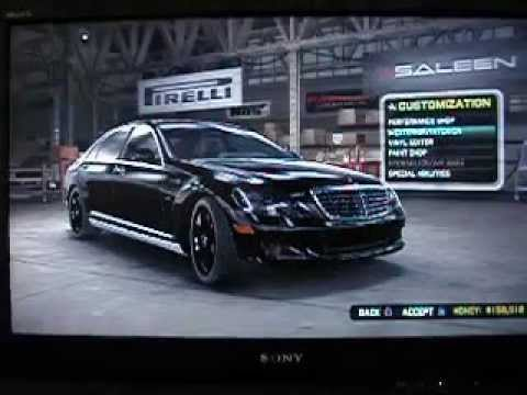Midnight Club Los Angeles Mercedes S600 (PS3) - YouTube