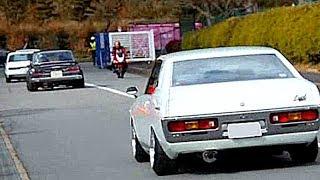 2018 ニューイヤーミーティング 奈良【旧車サウンド&加速でテンションMAXな退場シーン】 thumbnail