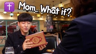 What if I give Quran to my Chrsitan mom?! ✝️ | Ramadan VLOG