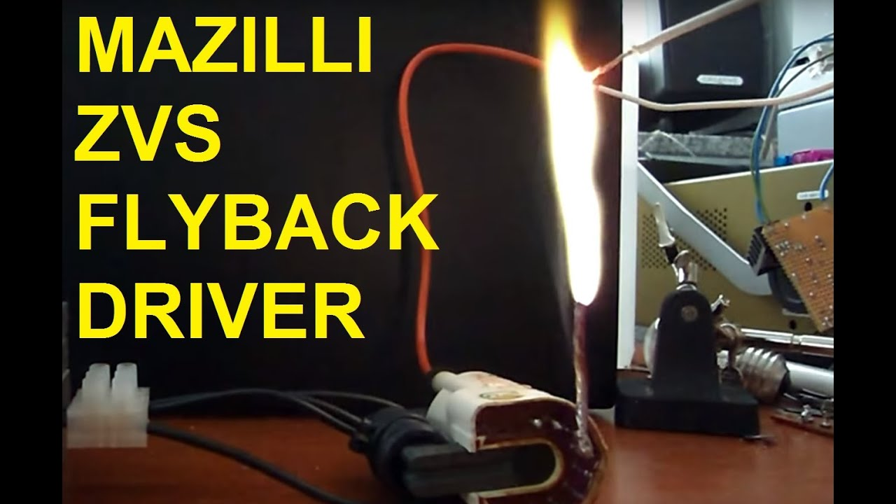 Mazilli ZVS flyback driver | Kaizer Power Electronics