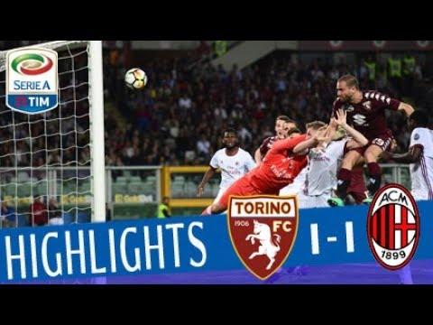 Torino - Milan 1-1 - Highlights - Giornata 33 - Serie A TIM 2017/18