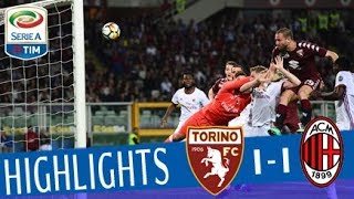 Torino - Milan 1-1 - Highlights - Giornata 33 - Serie A TIM 2017/18 streaming
