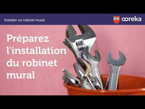 installer un robinet mural youtube. Black Bedroom Furniture Sets. Home Design Ideas