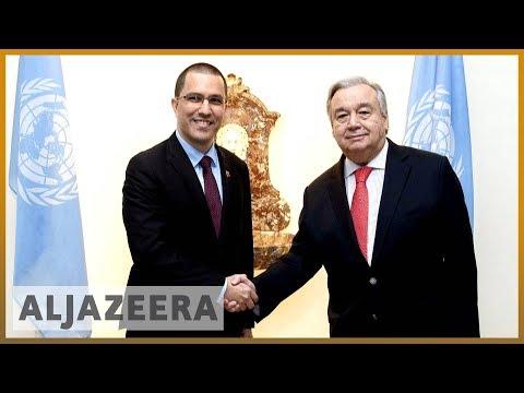 🇻🇪 Venezuela: 65 countries support Guaido, while UN backs Maduro l Al Jazeera English