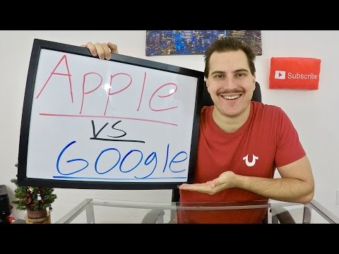 Apple vs Google! - Stock Market Battle!