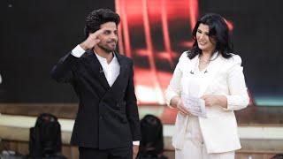 ربع ساعة من الضحك مع حمدي الميرغني بعد جائزة أفضل ممثل كوميدي في استفتاء معكم منى الشاذلي 2019