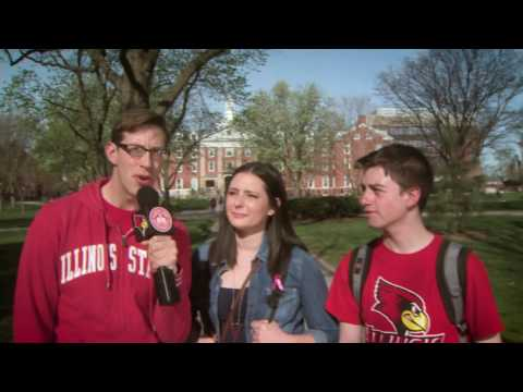 Buzzfeed Star Keith visits Illinois State Extended Version