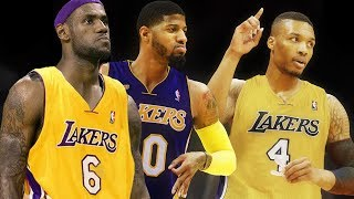 Damian Lillard JOINING Paul George & LeBron James in 2018?!