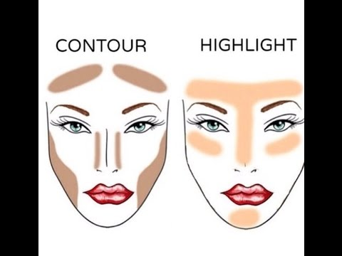 how to highlight and contour • contouring for beginners
