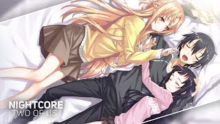 Nightcore - Two Of Us「 戸松遥 | Haruka Tomatsu 」