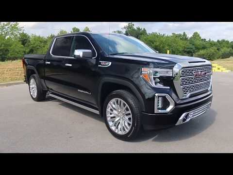 2019 All New GMC Sierra 1500 Crew Cab Denali 4x4 6.2L at Wilson County Motors Lebanon Tn