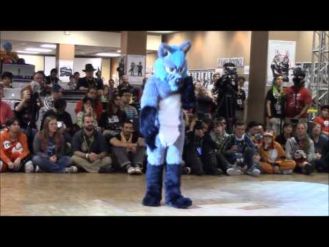 Wolfshier (3rd, Veteran) - BLFC 2015 Fursuit Dance Competition