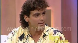 "George Clooney Interview ""Facts of Life"" (Merv Griffin Show 1985)"